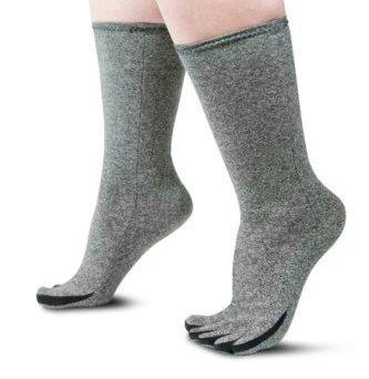Image showing toe compression stockings