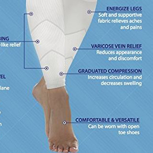 how medical legs compression leg sleeves work