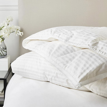 Our pick for the best duvet overall is the Luxury Hungarian Goose Down and Feather Duvet from The White Company.