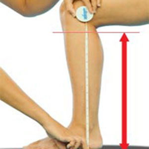 knee length measurements