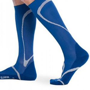 large tall fashionable men's compression socks