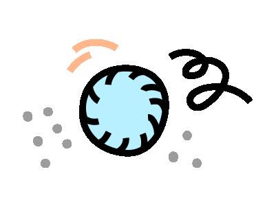 Tumble dry illustration
