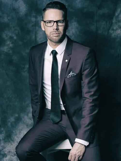 Man wearing a classy suit