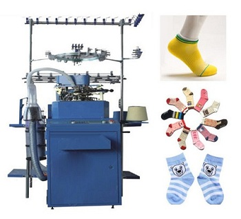 Manufacturing of compression socks  for men