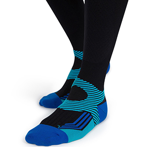 medium tall fashionable men's compression socks