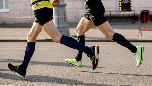 Compression socks for men that are great for running