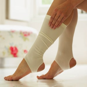 Non surgical Remedy by using socks.
