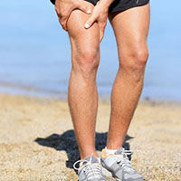 relieve muscle damage with compression socks
