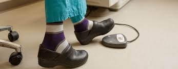 nurses wearing compression socks