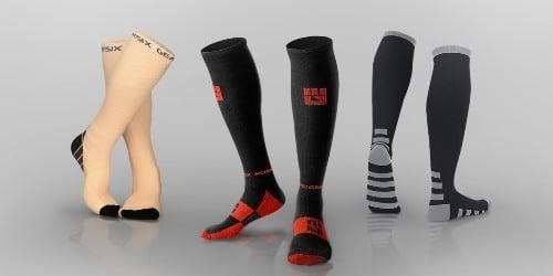 Compression stockings, knee length knees length compression socks for nurses