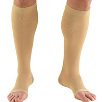 medical hosiery protects your legs from injuries