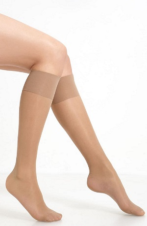 Oroblu Mi Bas Repos 70 Sheer Support Knee-high