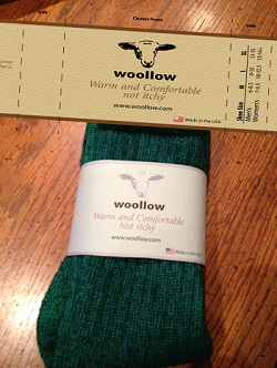 picture of woolen compression socks