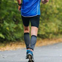 running compression socks relieve fatigue