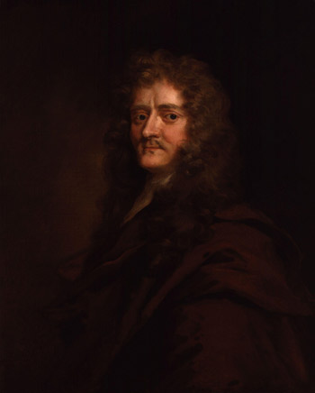 A portrait of Paul Rycant, the man credited with inventing the duvet. His idea came after a visit to Germany, after which he tried to sell the idea of duvets to his English friends.
