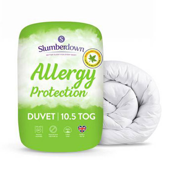 Our pick for the best value and best allergic protection duvet is the Allergy Protection Duvet by Slumberdown.