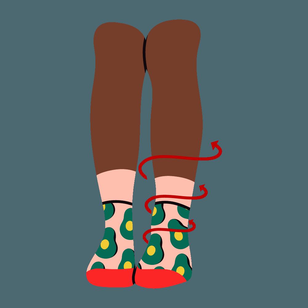 How-blood-flow-works-when-waering-the-best-compression-socks-ankle-length