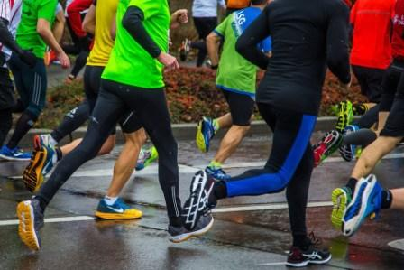 Athletes wear compression socks to improve their athletic performance
