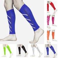 Multi coloured support stockings or socks