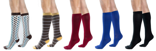 Different Styles of Compression Socks