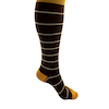 ComproGear Striped Brown Compression Socks Knee High 20-30 mmHg