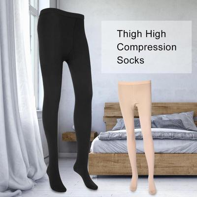 Image of thigh high compression socks for men