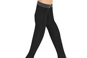 too tight fitting hosiery may be uncomfortable