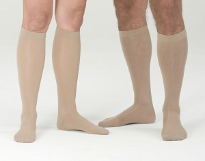 brown unisex compression socks