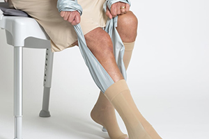 use eta socky to wear legs support hosiery