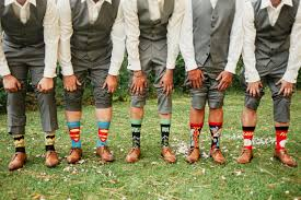 variety of shapes, sizes and colors and length of socks
