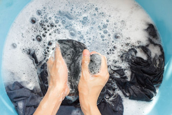 washing socks immediately after use is more hygienic