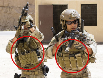soldiers wearing plate carriers