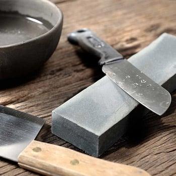 Whetstones sharpening knives