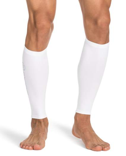 Image showing white calf compression
