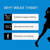 why wear Wide calves compression socks and compression stockings