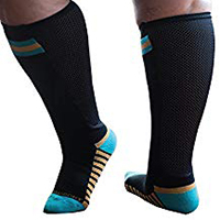 perfect pair of Wide calves compression socks and compression stockings for heavy women
