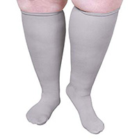 wide calf compression socks